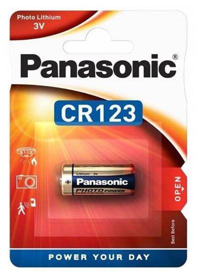 bateria foto litowa Panasonic CR123