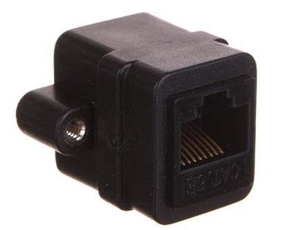 Adapter montażowy RJ45/RJ45 UTP kat.5 72361