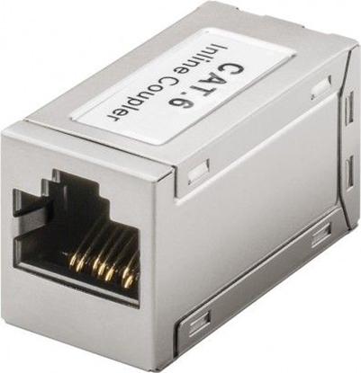 Adapter (przelotka) RJ45/RJ45 kat.6 ekranowany 15217