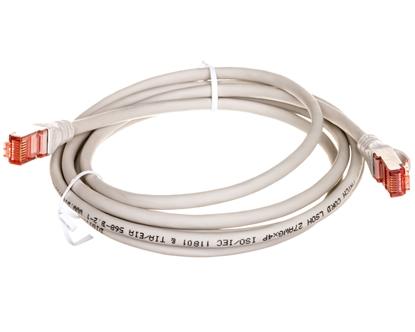Kabel krosowy (Patch Cord) S/FTP kat.6 szary 2m  DK-1644-020
