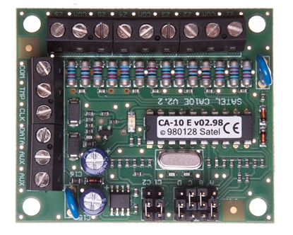 Moduł rozbudowy wejść centrali systemu alarmowego, do central serii CA-10, Satel CA-10 E