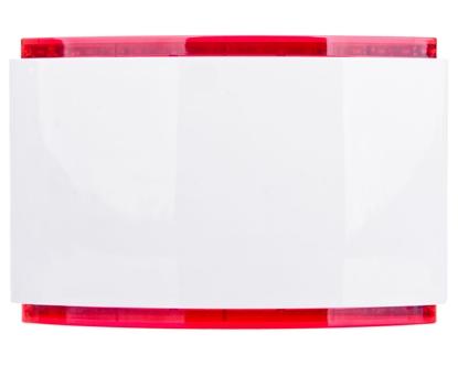 Sygnalizator akustyczno-optyczny, wewnętrzny, LED w kolorze czerwonym SPW-220 R