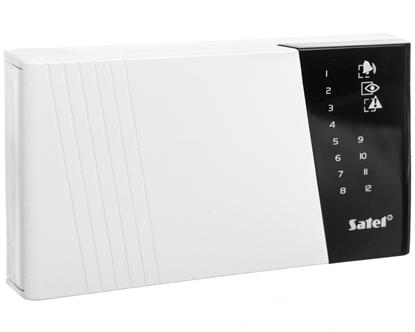Klawiatura obsługi systemu alarmowgo LED do systemu CA-10 CA-10 KLED