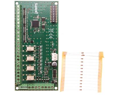 Moduł rozbudowy wejść i wyjść centrali systemu alarmowego serii INTEGRA INT-PP