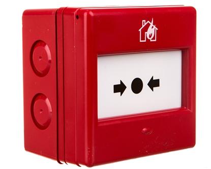 Ręczny ostrzegacz pożarowy 1P IP66 CXM/CO/G/R/WP 4990073FULL-0122X