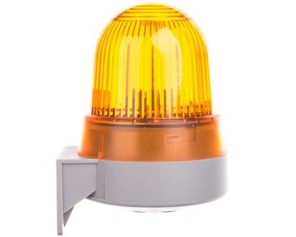 Sygnalizator akustyczno-optyczny żółty LED stałe 92dB 2,3kHz 24V AC/DC IP65 422.310.75