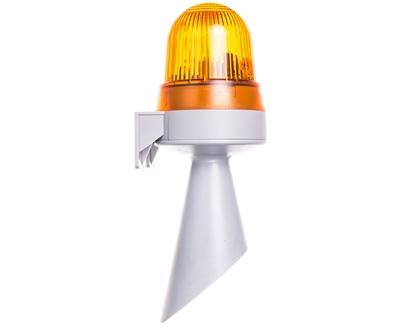 Sygnalizator akustyczno-optyczny żółty błyskowy 98dB 24V AC/DC IP65 425.320.75