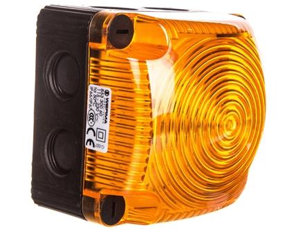 Sygnalizator ostrzegawczy żółty 115-230V AC LED stały IP66 853.300.60
