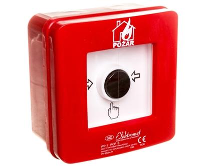 Ręczny ostrzegacz pożarowy NC-NO IP65 WP-1 ROP B 921406