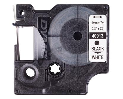 Taśma samoprzylepna do drukarek DYMO TDD 40913 (221-9) BK/WT E04ZP-03100400101