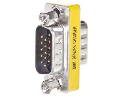 Adapter VGA D-Sub15 (M) - VGA D-Sub15 (M)