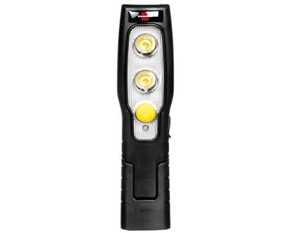 Lampa warsztatowa akumulatorowa 2+3LED HL SA MH 1175430