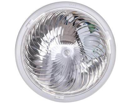 Oprawa oświetleniowa FEN z czujnikiem mikrofalowym 75W E27 IK10 IP44 poliwęglan przeźroczysty OR-OP-315WE27PPM