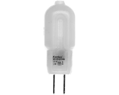 Żarówka LED 1,3W G4 12V AC 100lm GIO LED G4 FL-NW 5000K barwa zimna 22663