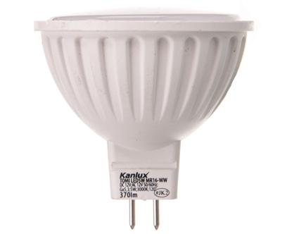 Żarówka LED 12V G5,3 TOMI LED5W MR16-WW 3000K 370lm 22704