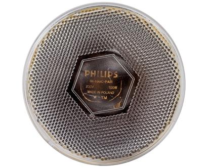 Promiennik podczerwieni E27 100W 121mm InfraRed PAR-38IR przezroczysty 8711500115782