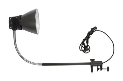 Oprawa warsztatowa 75W E27 IP20 ON-1/1-BL czarna mocowanie imadło 0149005