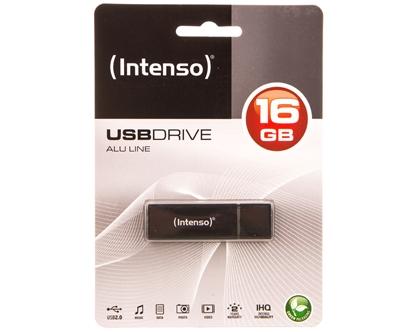 Pendrive INTENSO 16Gb ALU LINE ANTHRACITE USB 2.0 3521471