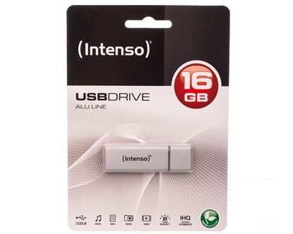 Pendrive INTENSO 16Gb ALU LINE SILVER USB 2.0 3521472