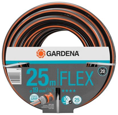 Wąż ogrodowy Gardena Comfort FLEX 19mm - 3/4'' 25m 18053-20