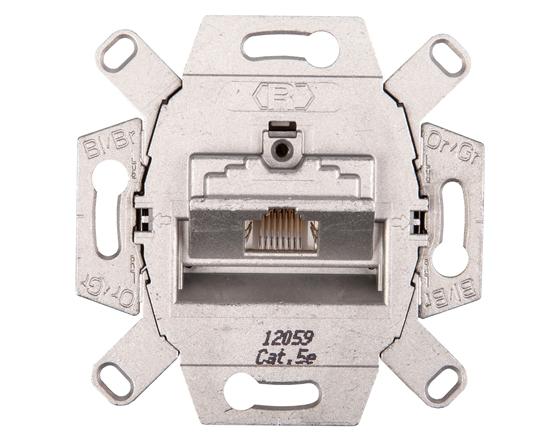 Berker/B.Kwadrat Gniazdo przyłączeniowe UAE 8-bieg. kat. 5e ekranowane mechanizm 534554
