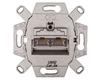 Berker/B.Kwadrat Gniazdo przyłączeniowe podwójne UAE 8/8-bieg. kat. 5e mechanizm 534555