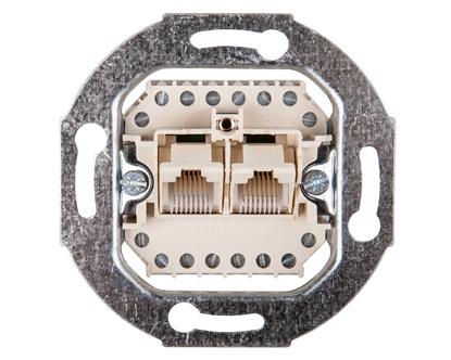 Berker/B.Kwadrat Gniazdo przyłączeniowe UAE 8/8-bieg. kat. 3 mechanizm 534539