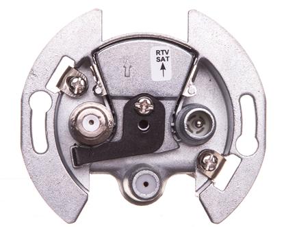 1930 Gniazdo RTV-2F SAT mechanizm 53455332