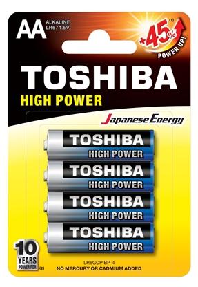 Bateria alkaliczna LR6 / AA 1,5V HIGH POWER LR6GCP BP-4 /blister 4szt./