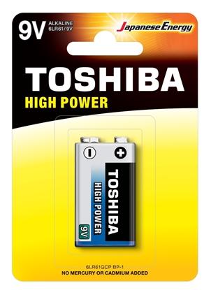 Bateria alkaliczna 6LF22 9V HIGH POWER 6LR61GCP BP-1 /blister 1szt./