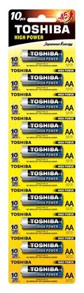 Bateria alkaliczna LR6 / AA 1,5V HIGH POWER LR6GCP BP-1X10 /sticker 10szt./