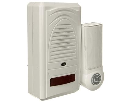 Dzwonek bezprzewodowy 60m 230V 6898-80 biały P5705