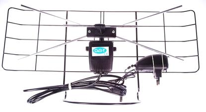 Antena pokojowa DVB-T siatka LIBOX LBPOK
