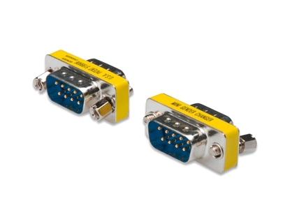 Adapter RS232 1:1 Typ DSUB9/DSUB9, M/M AK-610505-000-I