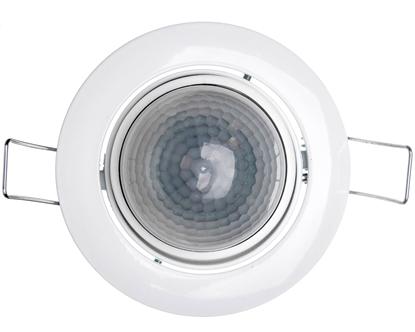 Czujnik ruchu i zmierzchu na podczerwień 8 metrów 1000W 360 stopni 230-240V 50Hz IP44 biały IS D 360 601317