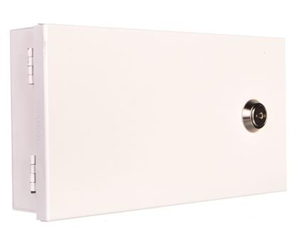 Obudowa klawiatury uniwersalna 215x115x40mm natynkowa biała LED/B Satel Pulsar AWO352