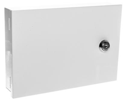 Obudowa klawiatury uniwersalna 215x150x50mm natynkowa biała LCD/B Satel Pulsar AWO353