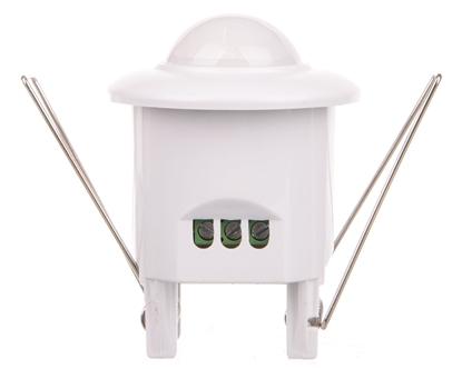 Czujnik obecności z oświetleniem LED 360° IP20 800W OR-CR-235