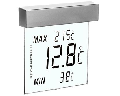 Termometr okienny Vision -25°C do +70°C duże cyfry 30.1025