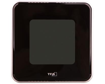 Termometr/higrometr cyfrowy funkcja zegara -20-50°C, wilgotność 20-99% bateria CR 2032 czarny 30.5021.01