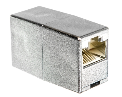 Adapter (przelotka) RJ45/RJ45 kat.5e ekranowany DN-93901