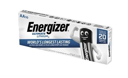 10 x bateria foto litowa Energizer L91 Ultimate Lithium R6 AA