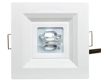 Oprawa awaryjna CENTRA LED GK 3W 1h NM optyka korytarzowa biała PC231021