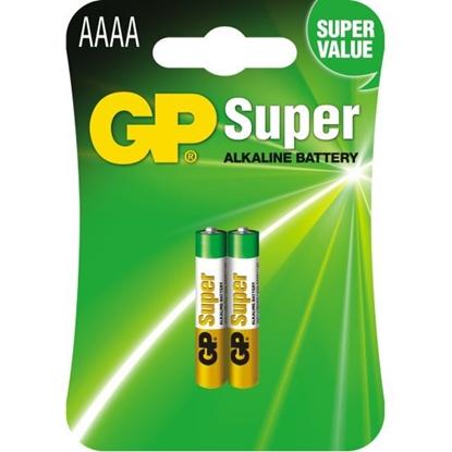 2 x bateria GP Super AAAA / LR61 / 25A / LR8D425 / MN2500 / MX2500 / E96 | EAN: 4891199058615