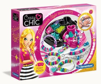 Crazy Chik kolorowe bransoletki (78415 CLEMENTONI)