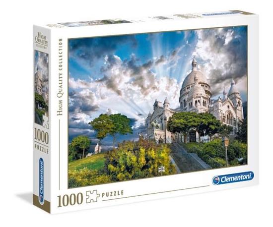 Clementoni Puzzle 1000el HQ  Montmartre 39383 p6, cena za 1szt. (39383 CLEMENTONI)