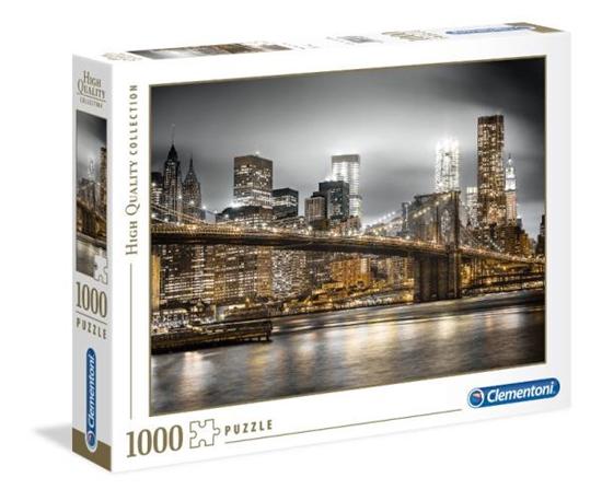 Clementoni Puzzle 1000el HQ New York skyline 39366 p6, cena za 1szt. (39366 CLEMENTONI)