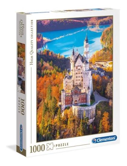Clementoni Puzzle 1000el HQ Neuschwanstein 39382 p6, cena za 1szt. (39382 CLEMENTONI)