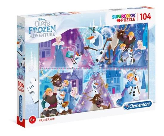 Clementoni Puzzle 104el 2 Olaf's Frozen Adventure 27094 (27094 CLEMENTONI)
