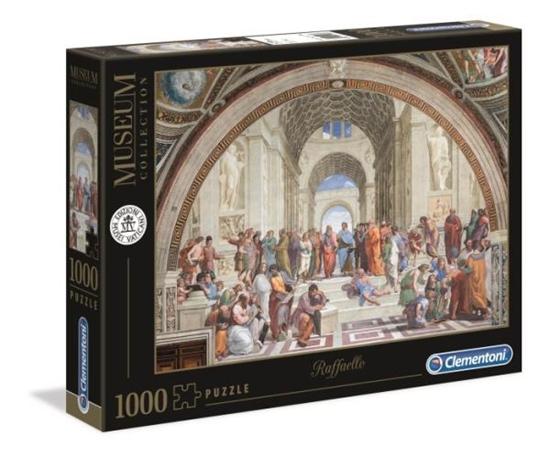 Clementoni Puzzle 1000el Museum Raffaello. Szkoła ateńska 39483 p6 (39483 CLEMENTONI)